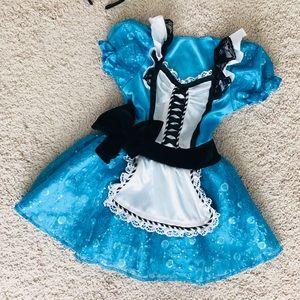 Other - Toddler Alice In Wonderland costume 2T